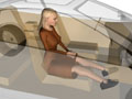 3D Drivers & Passenger 3d people character Models