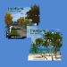 TreeFarm 3D Palm and Tree models